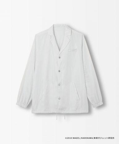 聖なる白銀の鎧(白衣風)コーチジャケット