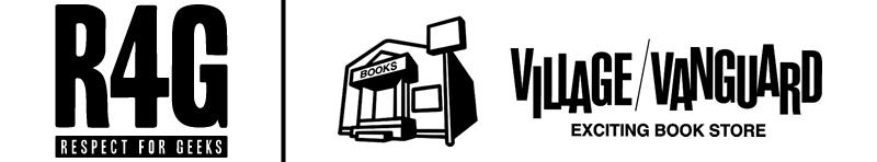 R4GのPOP-UP STOREがヴィレッジヴァンガード5店舗で取り扱い開始!