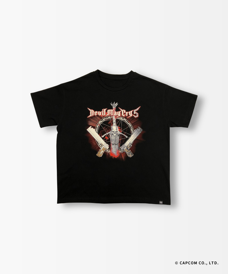 "DMC5 DANTE ""Let's Rock"" Tシャツ"