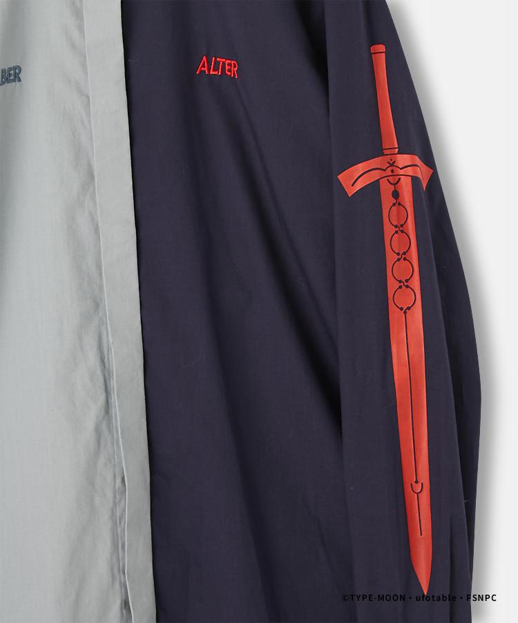 SABER&ALTER DRESS SHIRT