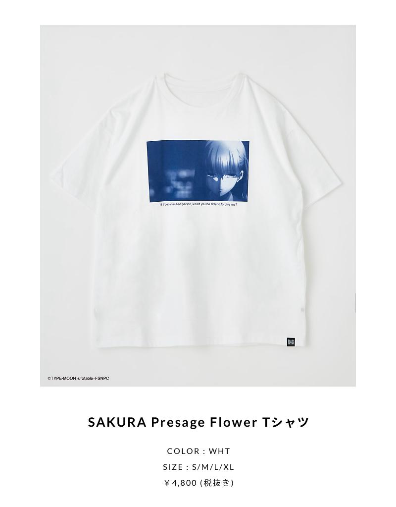 SAKURA Presage Flower Tシャツ