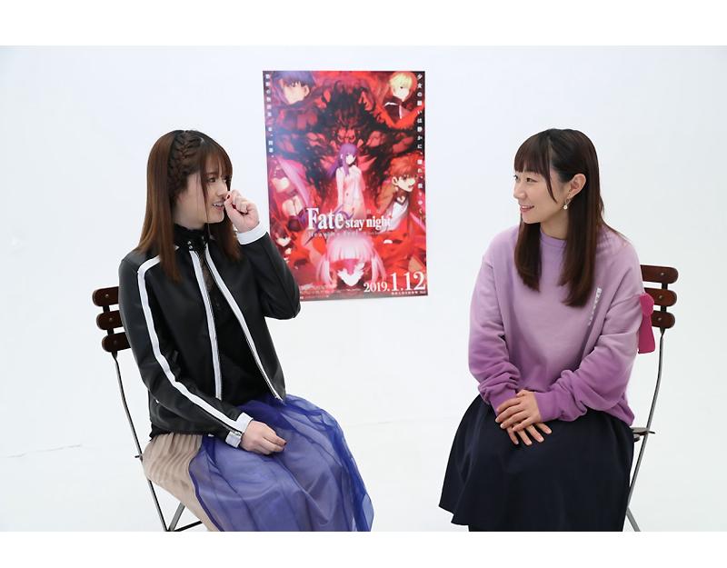 松村沙友理(乃木坂46)さん×下屋則子(間桐桜役)さんスペシャル対談