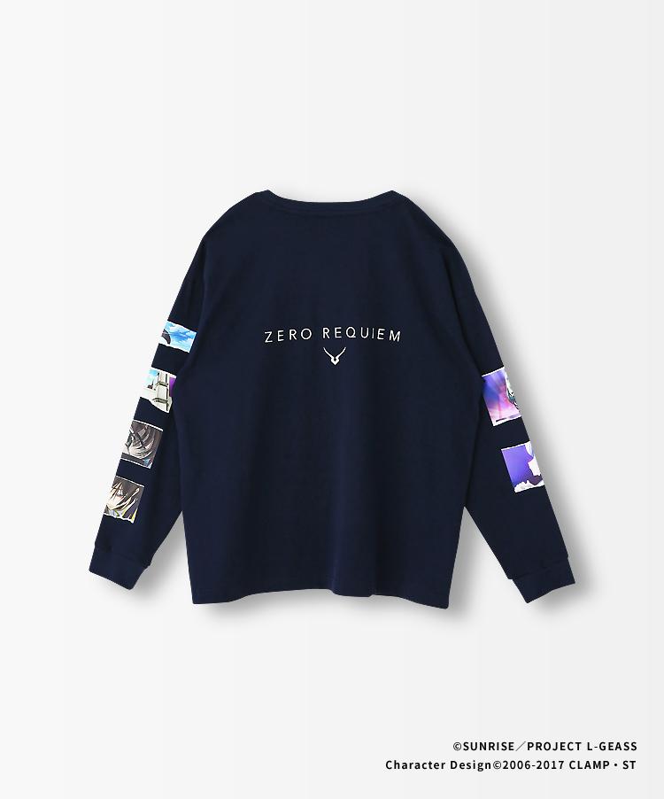 ZERO REQUIEM ロングスリーブTシャツ