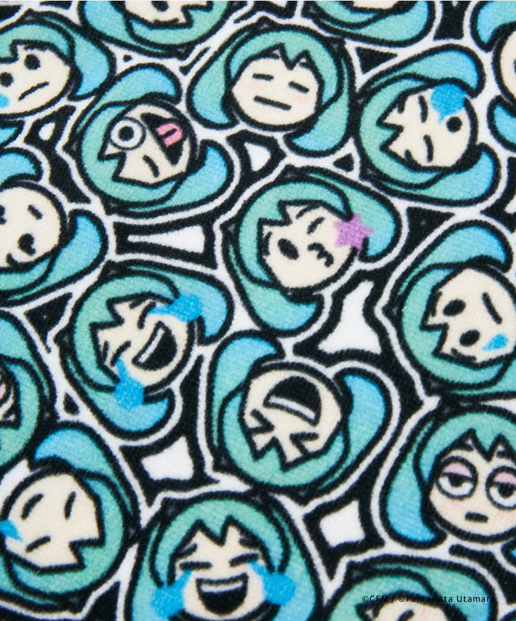 MIKUMOJI TOWEL (LARGE)