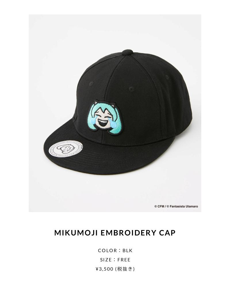 MIKUMOJI EMBROIDERY CAP