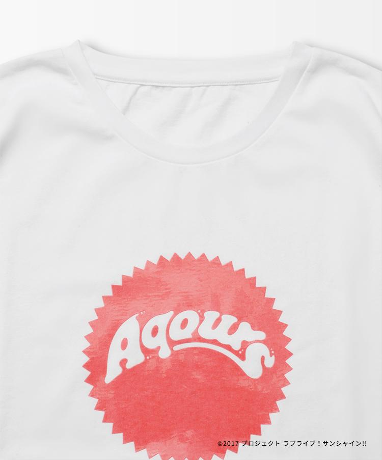 Aqours Logo TEE RIKO