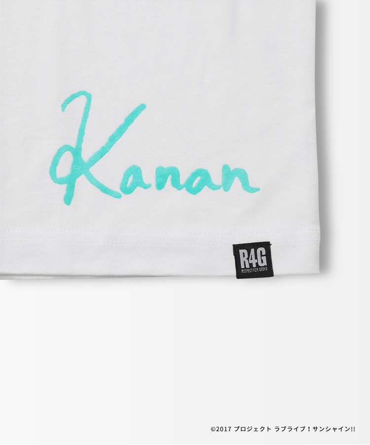 Aqours Logo TEE KANAN