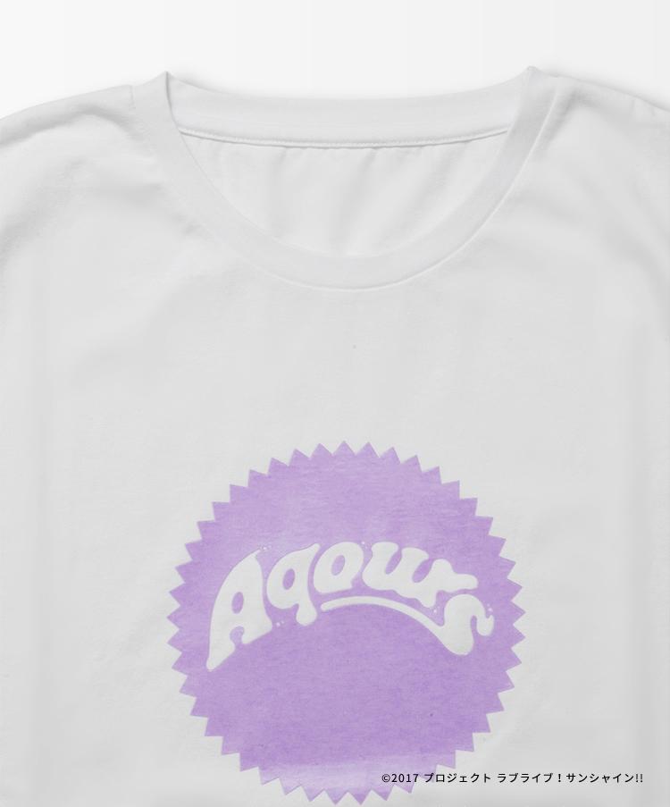Aqours Logo TEE MARI