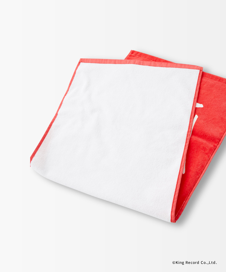 ヒプノシスマイク×R4Gフェイスタオル(RED)