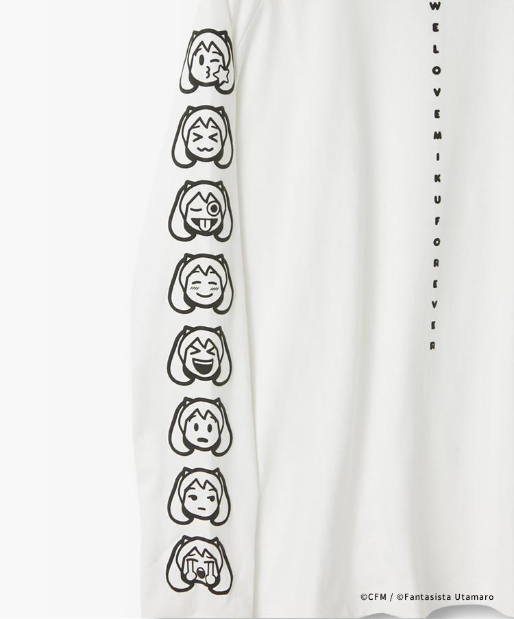 MIKUMOJI LONG SLEEVE TEE