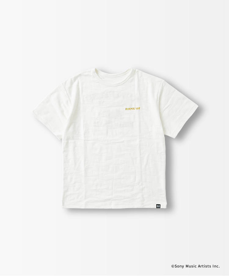 """KISARAZU GRAFFITI""ジャガードカモ刺繍Tシャツ"