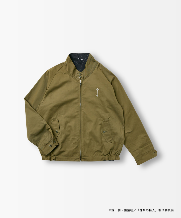SWING TOP reversible JACKET
