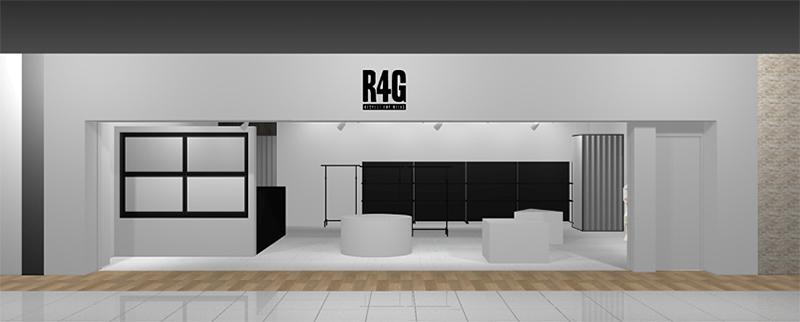 R4G 池袋「サンシャインシティ」にて、 POP-UP STOREが半年間のロングランで開催決定!