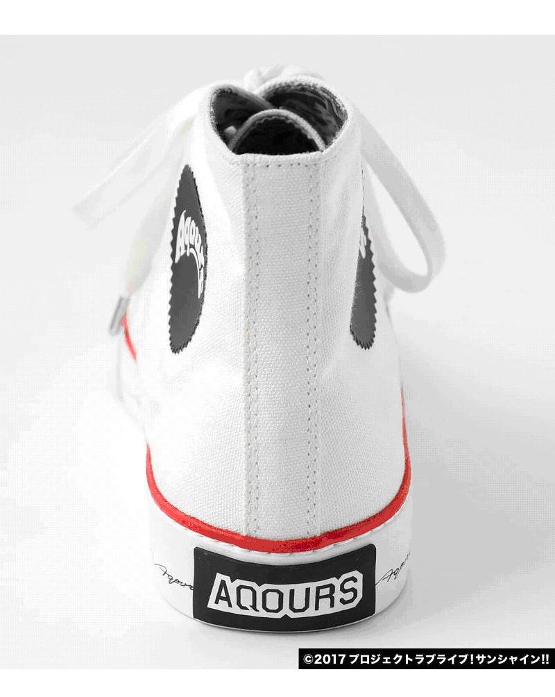 Aqours x R4Gハイカットシューズ
