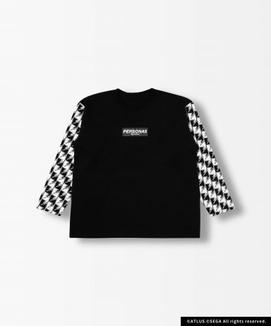P5R Fukidashi Checker Sleeve T