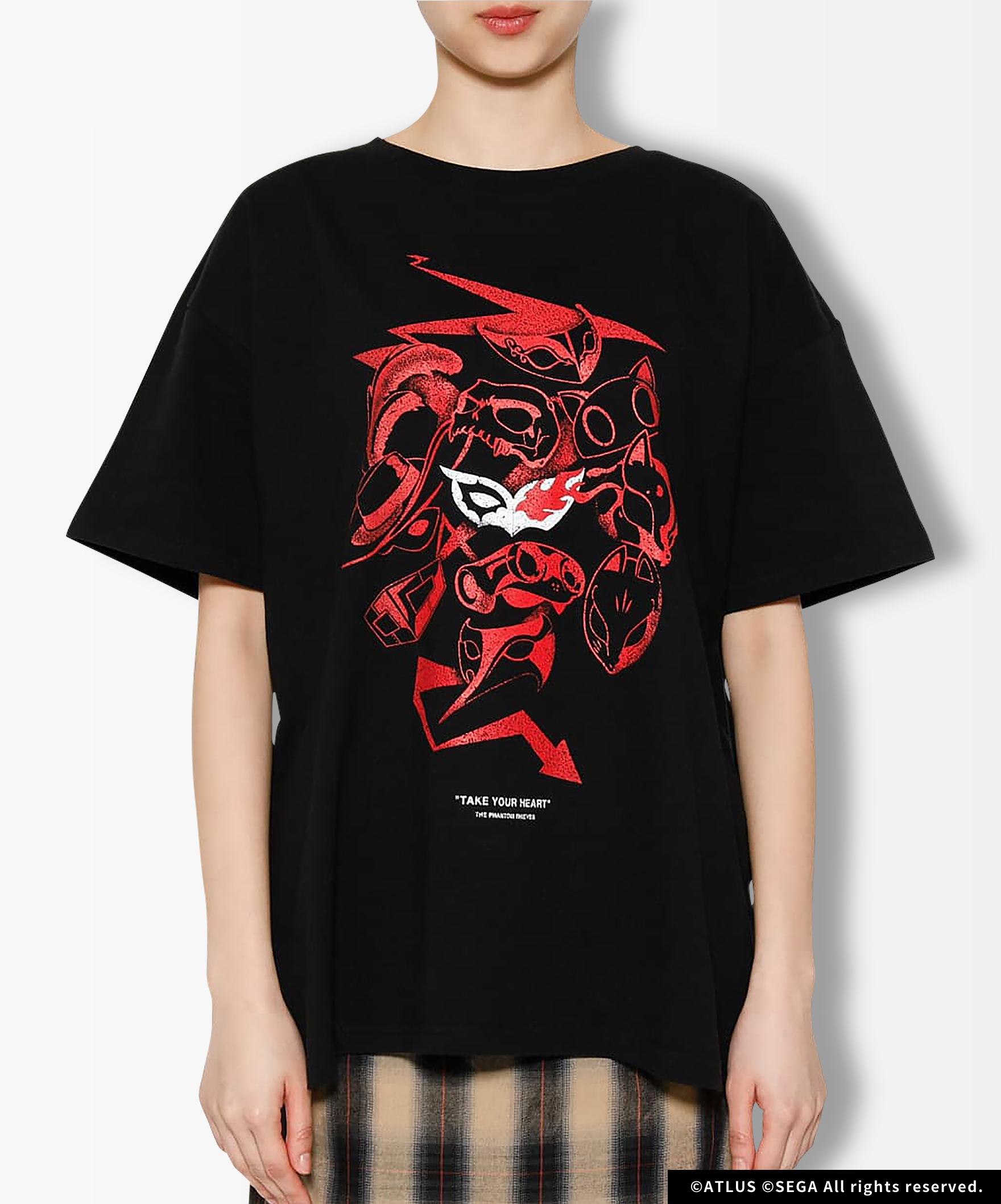 P5R THE PHANTOM ROCK Tシャツ