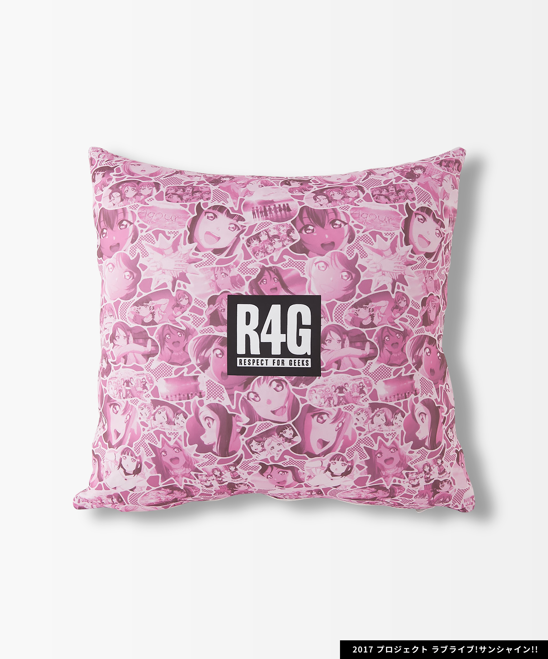 Aqours×R4G Cushion Cover(PNK)