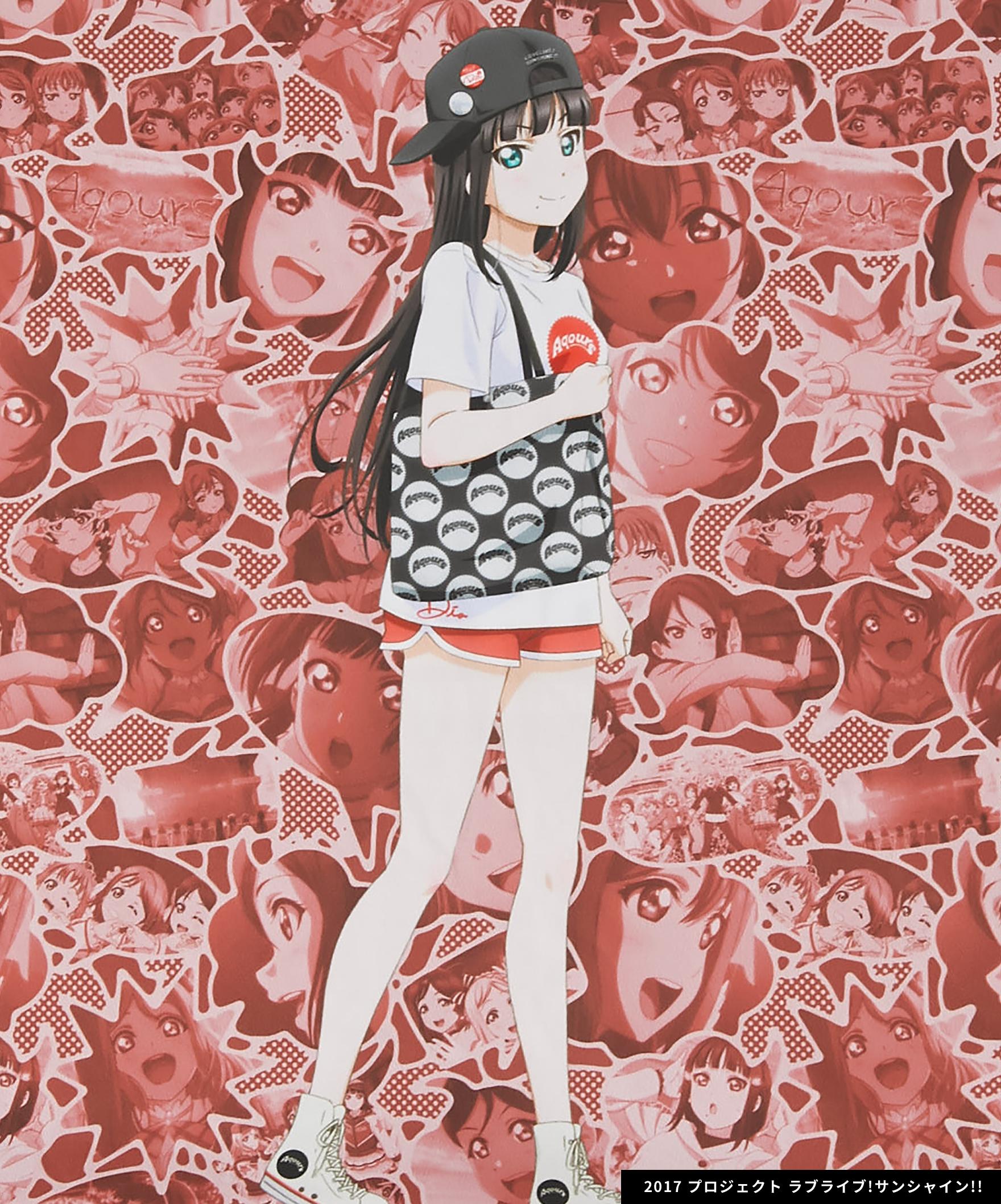 Aqours×R4G Cushion Cover(RED)