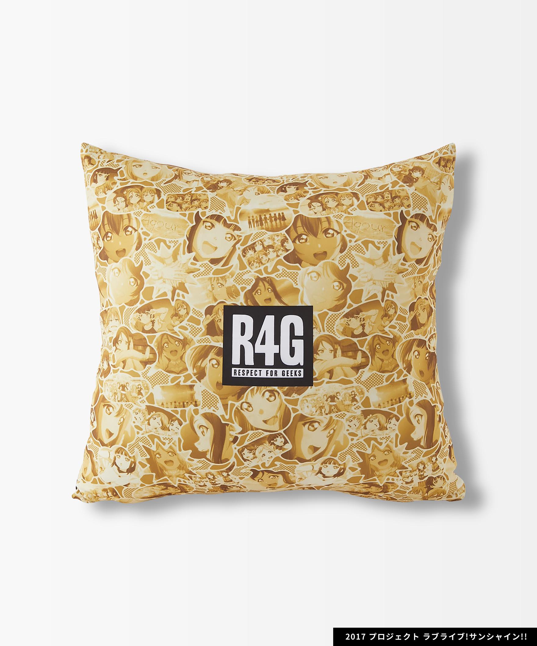 Aqours×R4G Cushion Cover(YEL)