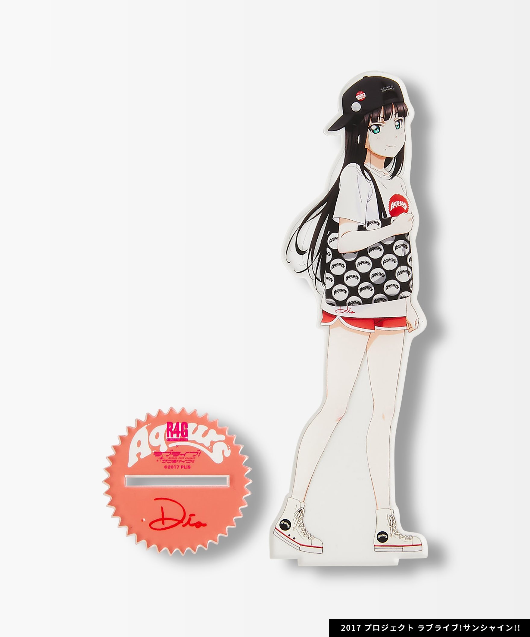 Aqours×R4G/Acrylic Stand(RED)