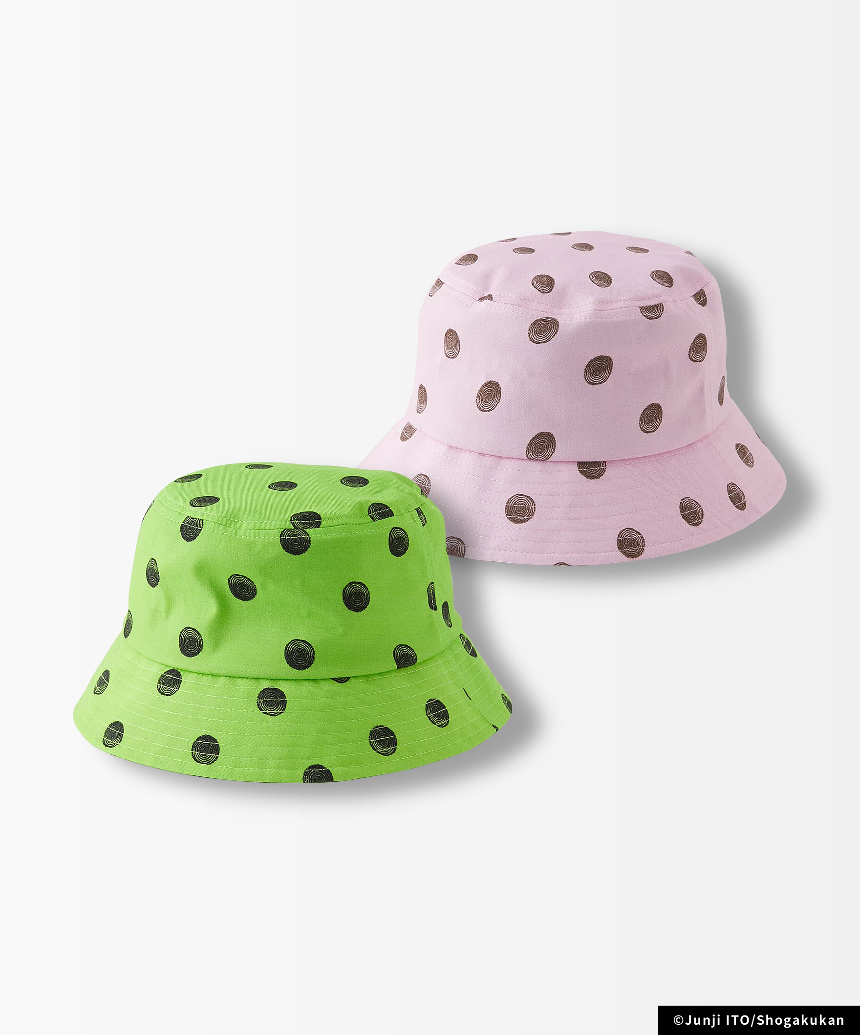 UZUMAKI DOTS BUCKET HAT