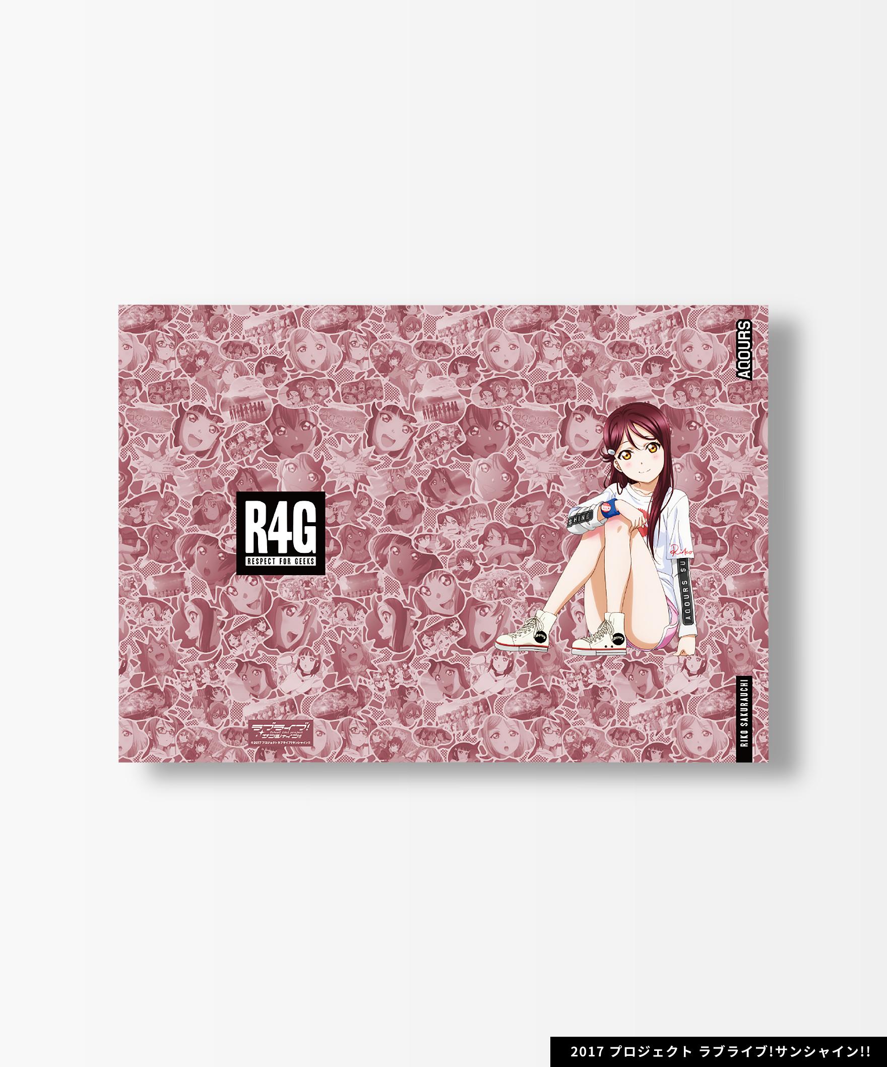 Aqours×R4G Clear File 全9種