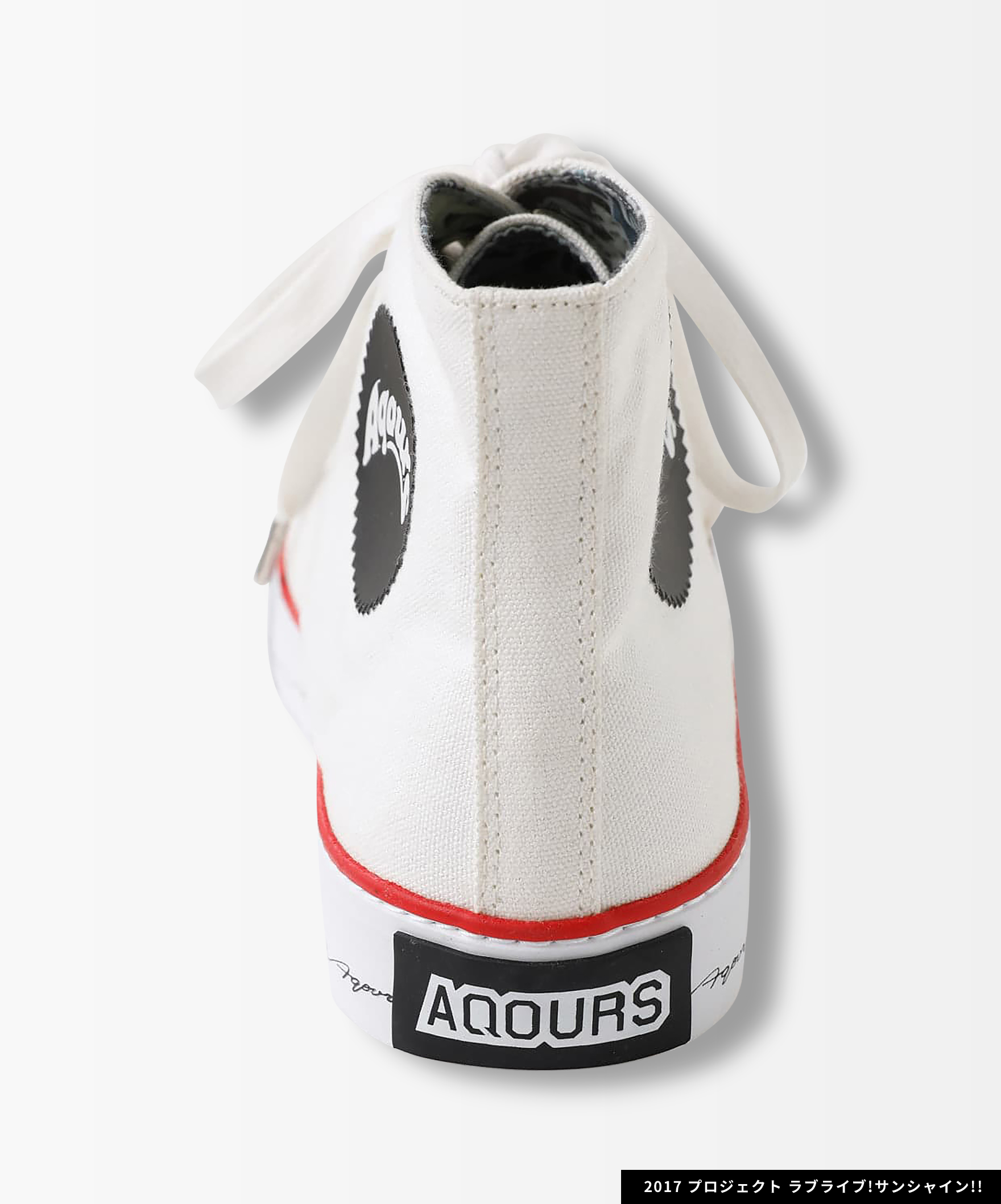 Aqours x R4G ハイカットシューズ