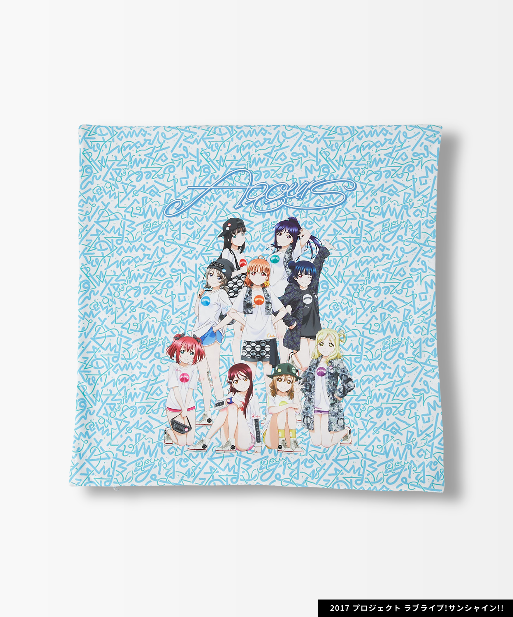 Aqours×R4G Cushion Cover