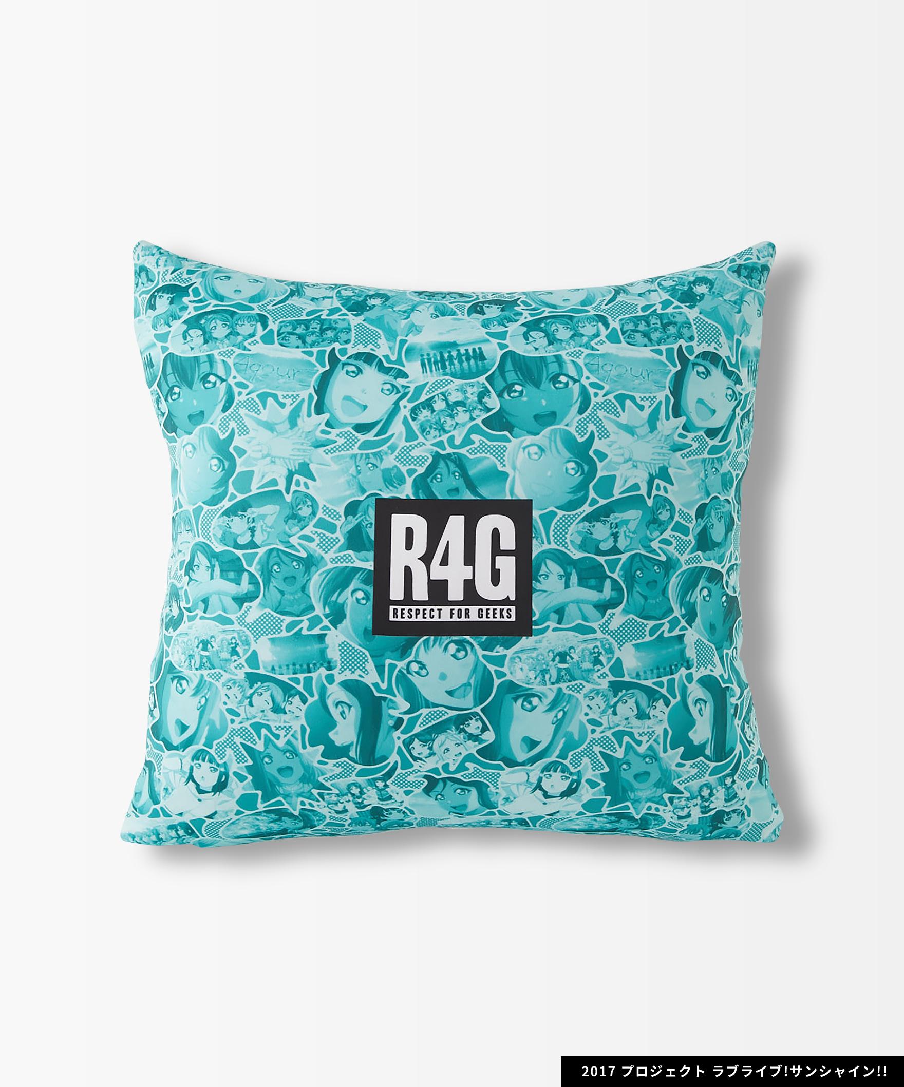 Aqours×R4G Cushion Cover(GRN)