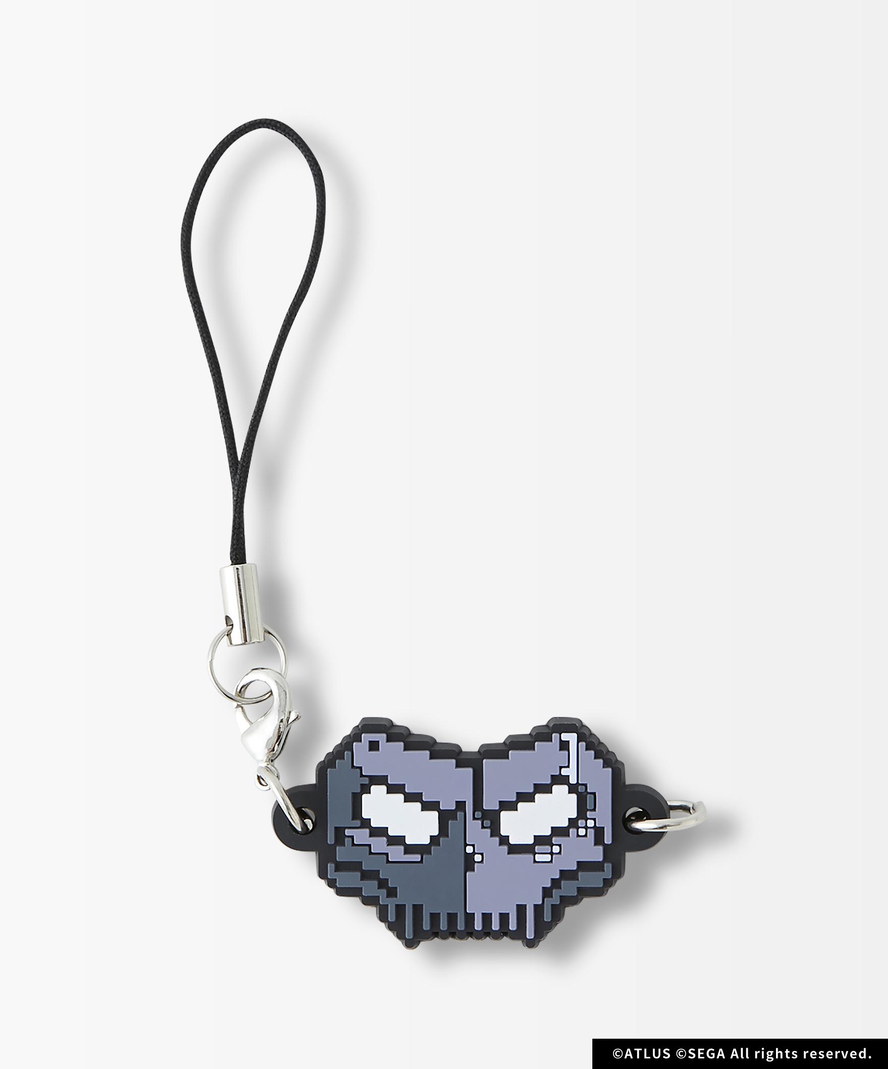 P5R Pixel Mask Ruber Strap