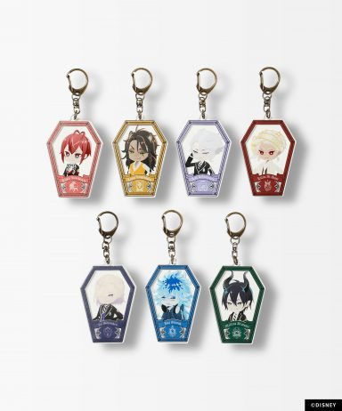TW SD Coffin Key Chain 全7種