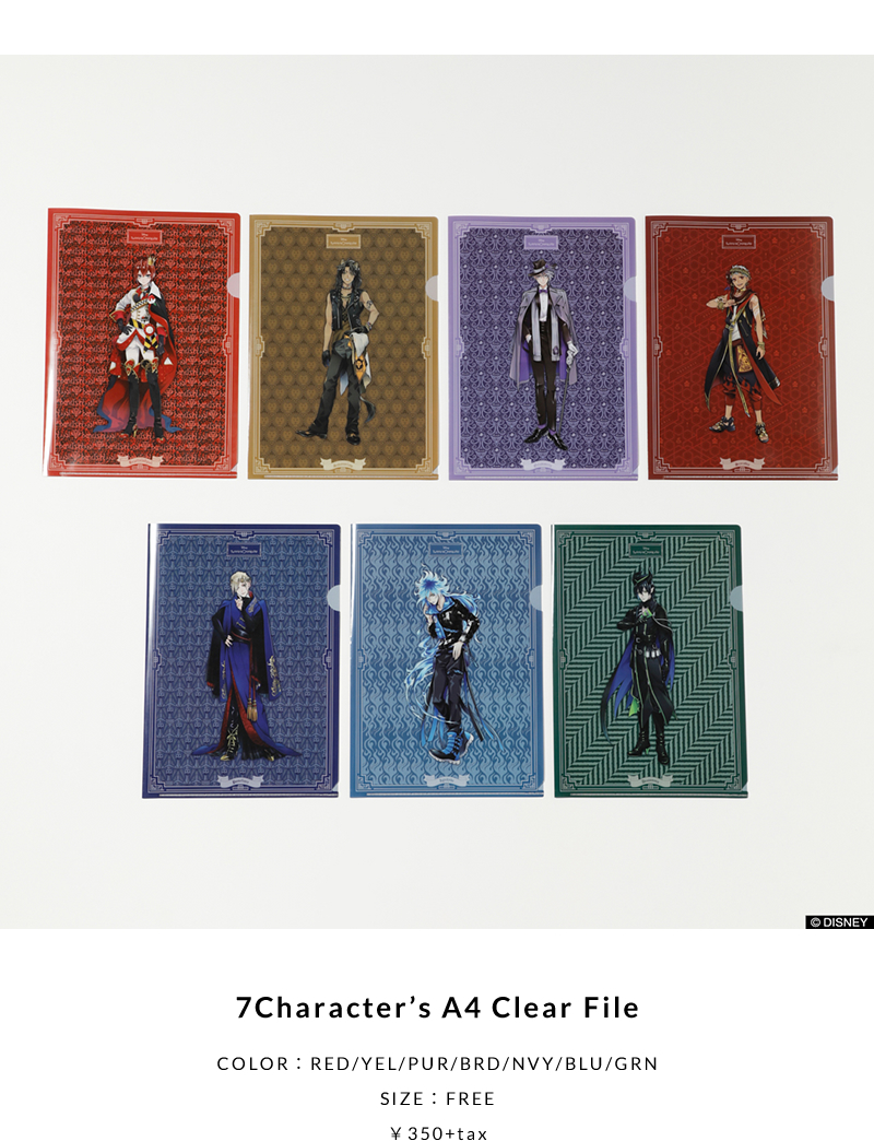 7Character's A4 Clear File