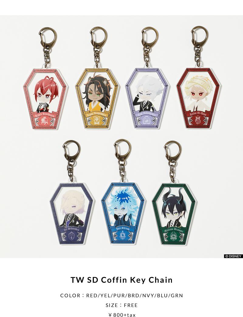 TW SD Coffin Key Chain