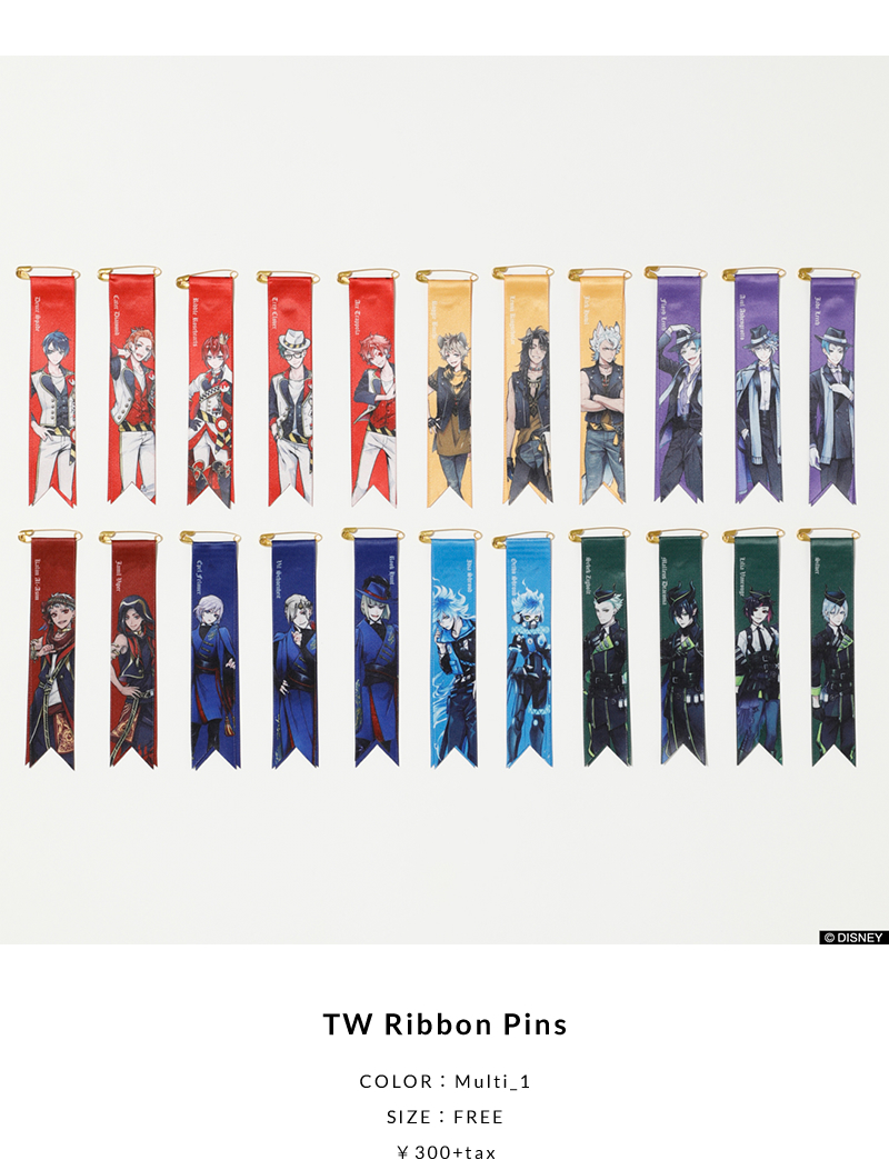 TW Ribbon Pins