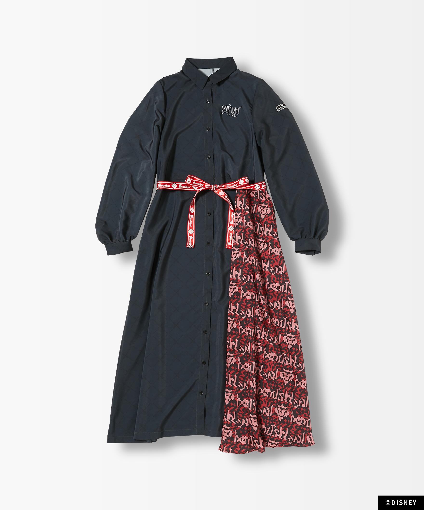 7Dormitories Maxi Shirts Dress