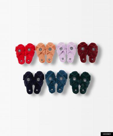 Roomy Fluffy Slippers