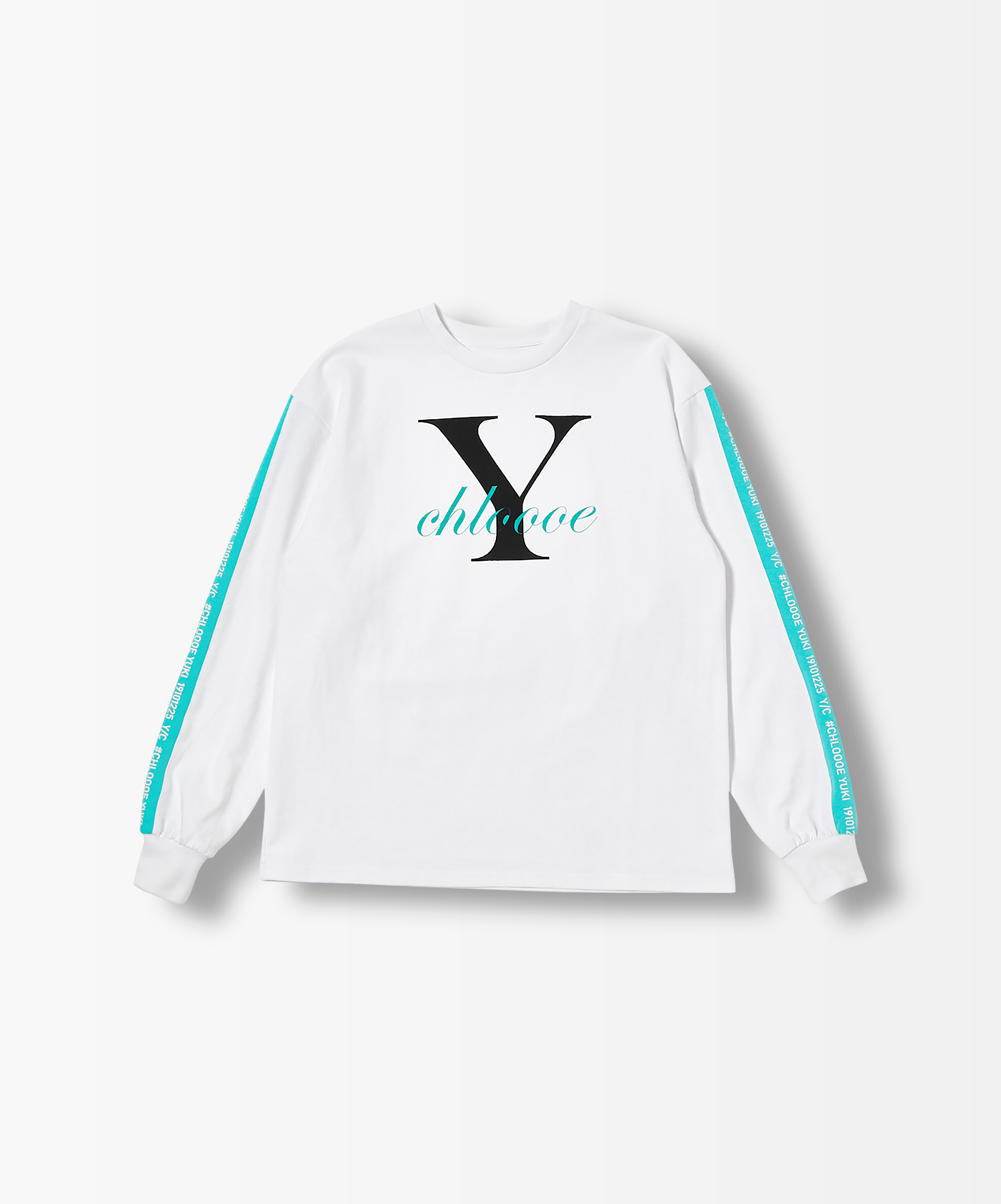 chloeYロゴロングTシャツ
