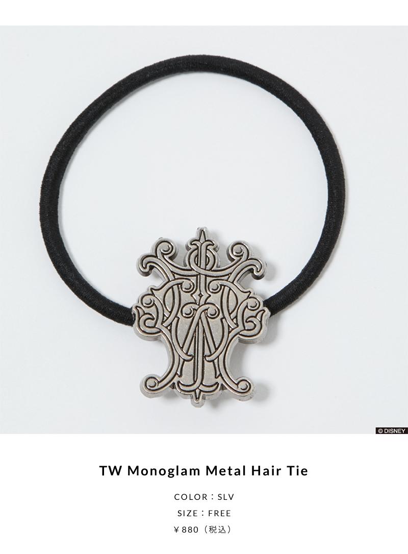 TW Monoglam Metal Hair Tie