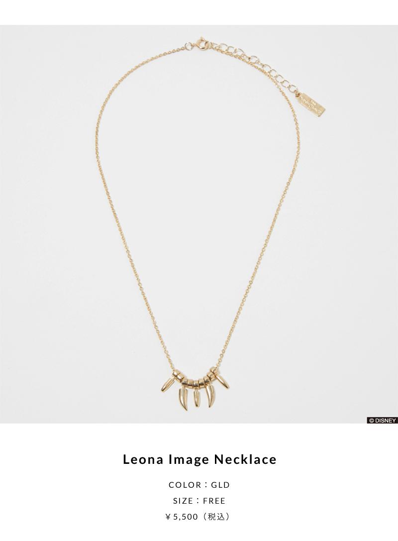 Leona Image Necklace