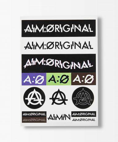 AIM:original ステッカー