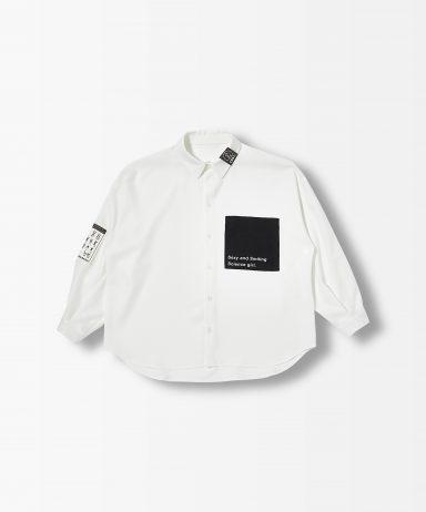 scienceビックポケットシャツ