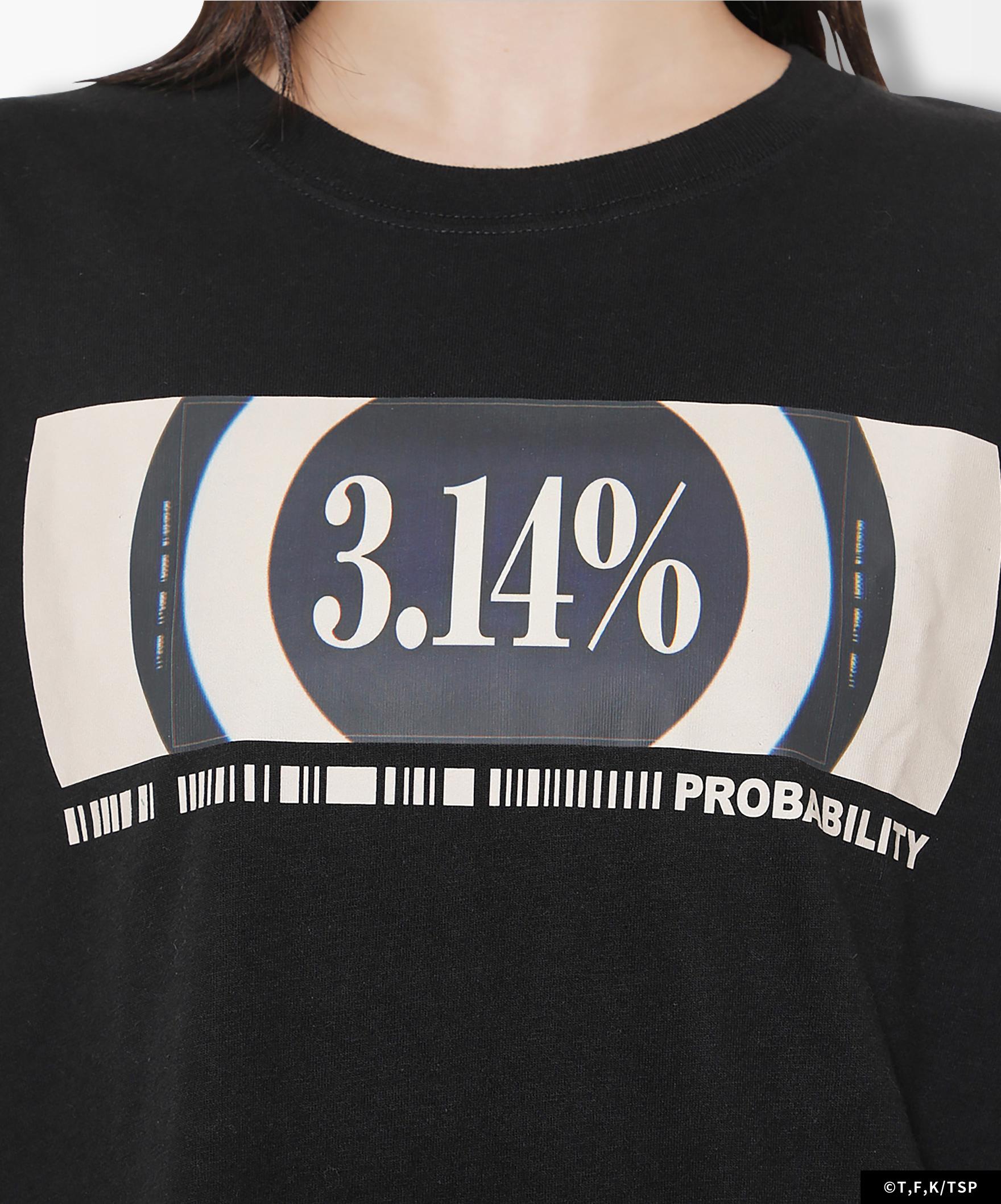BAMEN L/S TEE PROBABILITY 3.14