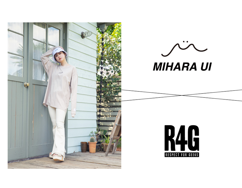 R4G × 三原羽衣