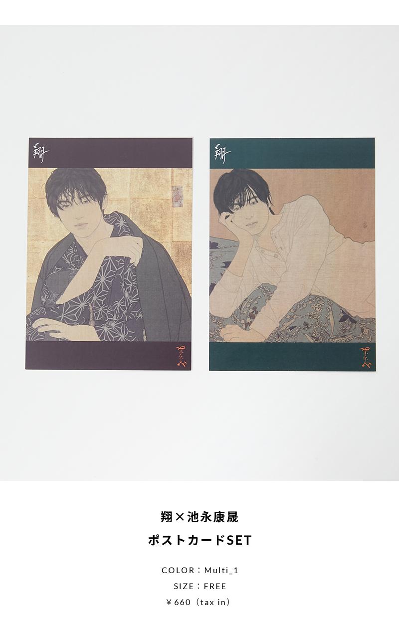 翔×池永康晟ポストカードSET